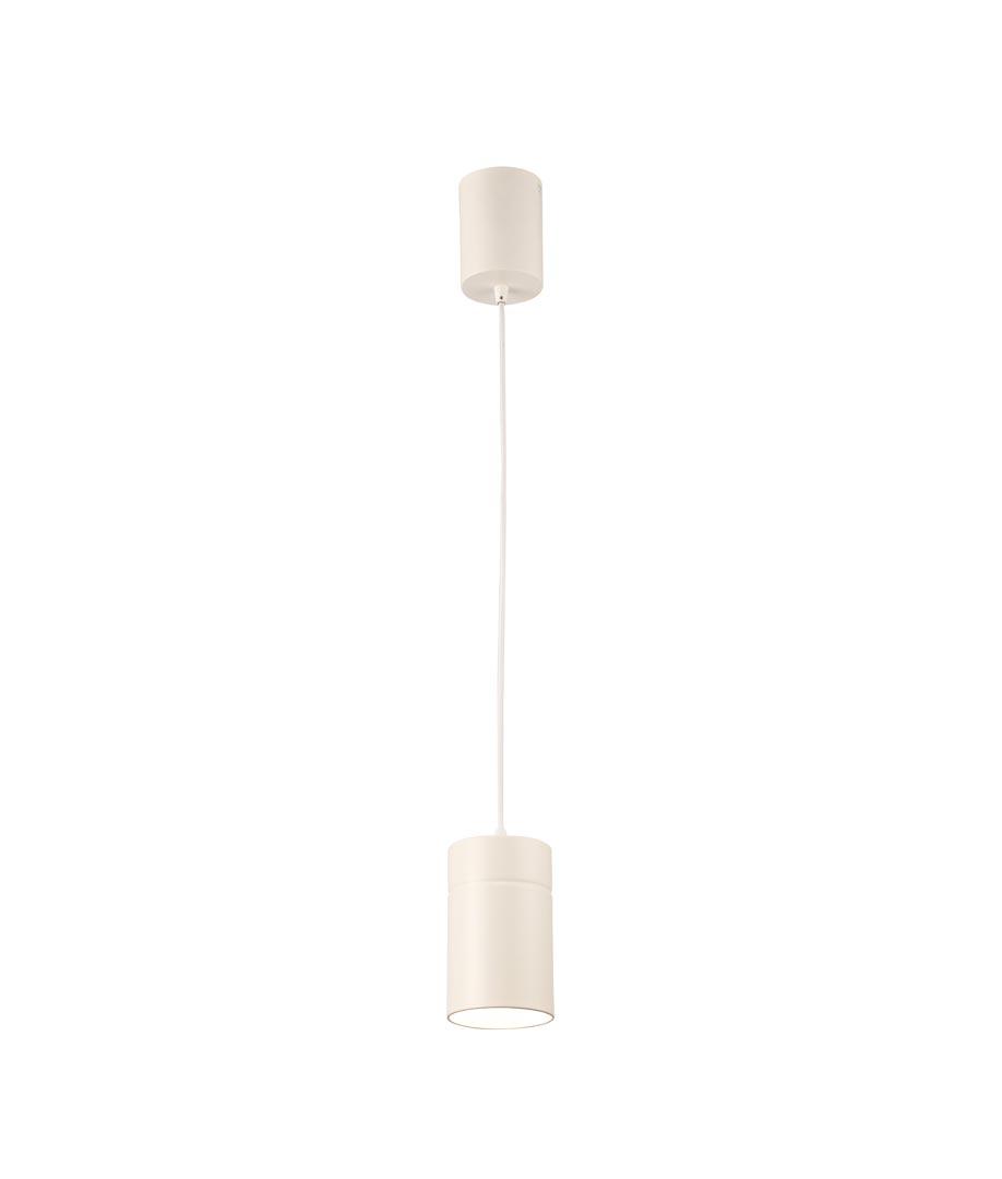 Lámpara colgante pequeña blanco ARUBA