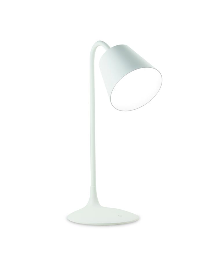Lámpara de mesa LED READING blanco