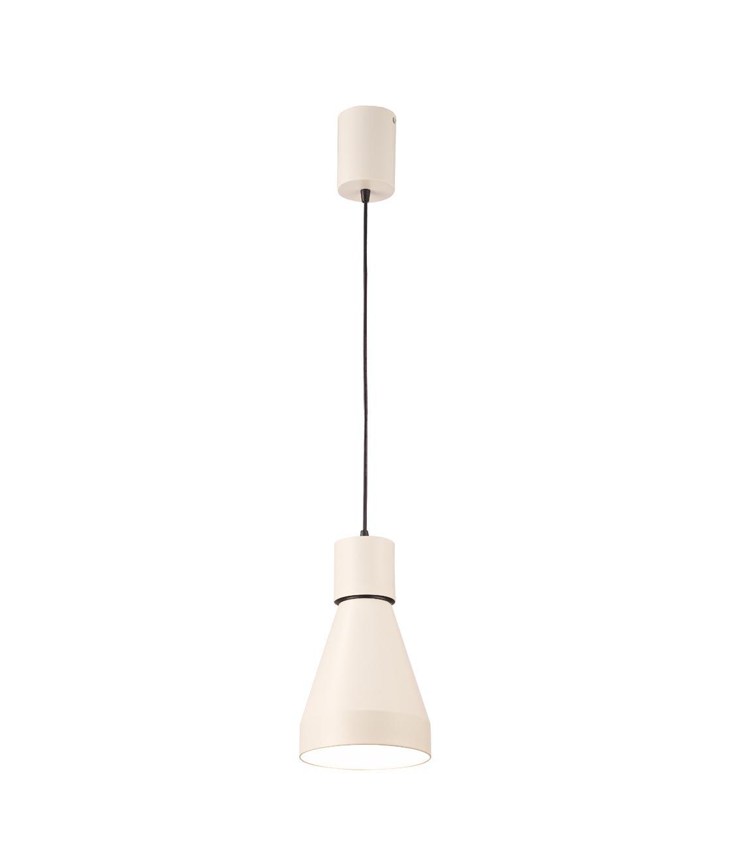 Lámpara de techo grande KOS blanco