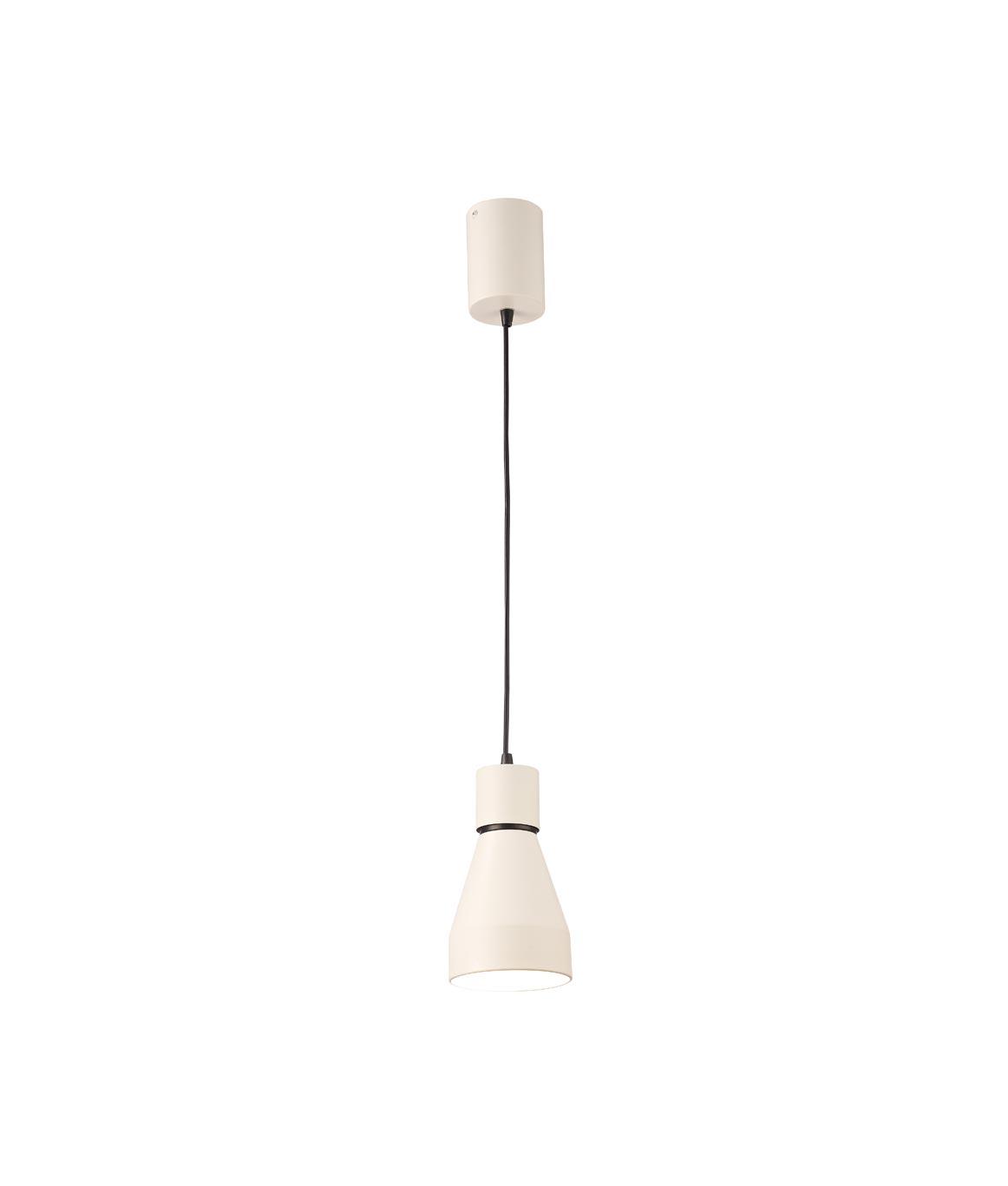 Lámpara de techo pequeña KOS blanco