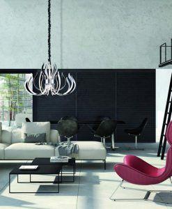 Lámpara LED de diseño 103 cm VERSAILLES ambiente