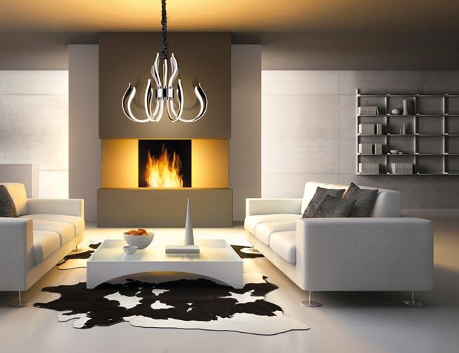 Lámpara LED de diseño 85 cm VERSAILLES ambiente