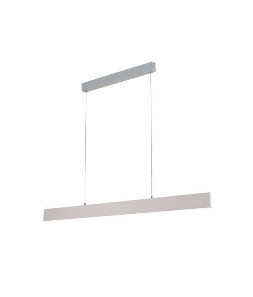 Lámpara LED lineal PETACA blanco