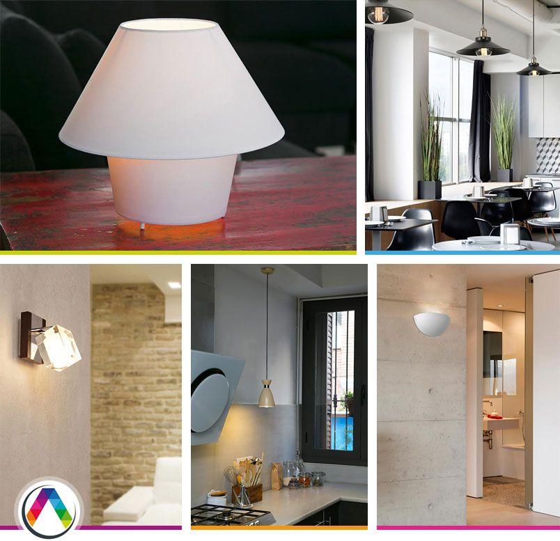 Lámparas apliques Low Cost en La Casa de la Lámpara