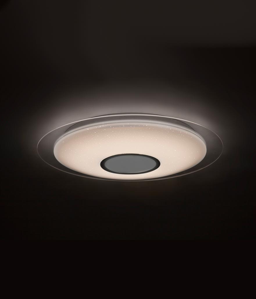 Plafón LED con altavoz SPEAKER ambiente