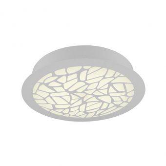 Plafón LED redondo PETACA blanco