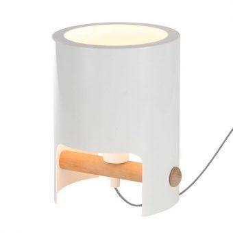Sobremesa nórdica pequeña CUBE blanco