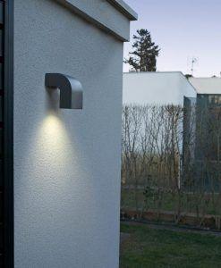 Aplique 1 luz gris oscuro KLAMP ambiente