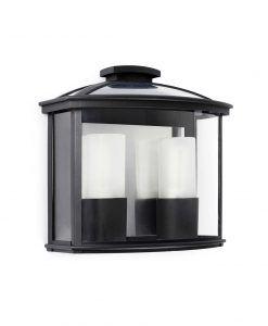 Aplique 2 luces negro CERES-2