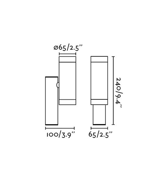 Medidas aplique blanco exterior STEPS
