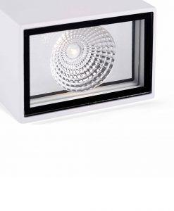 Aplique blanco LING LED detalle 2