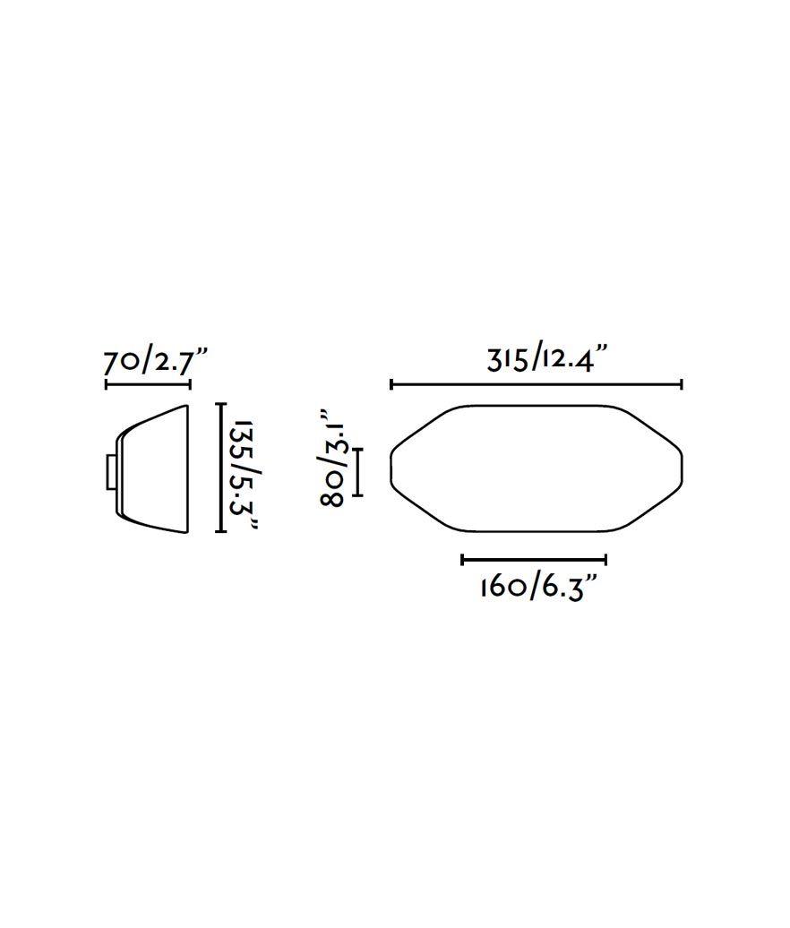 Medidas aplique diseño FUTURE blanco