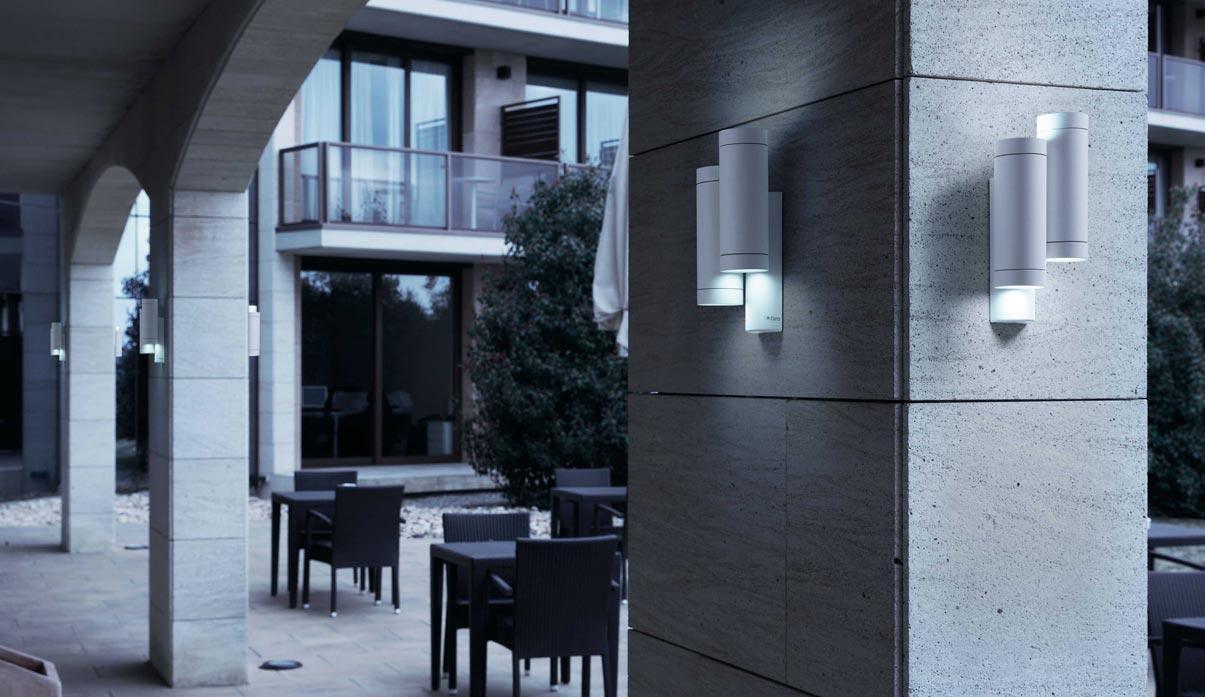 Aplique doble luz STEPS blanco ambiente