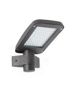 Aplique gris oscuro YAK LED
