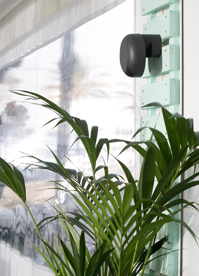 Aplique GROW LED gris oscuro ambiente