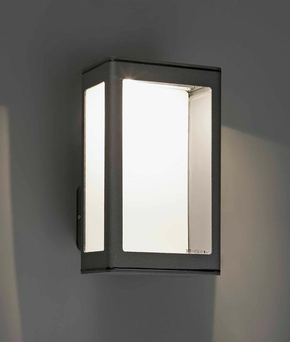 Aplique MARE lámpara gris oscura detalle