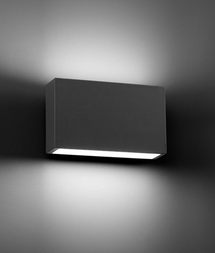 Aplique moderno para exterior TANE LED detalle