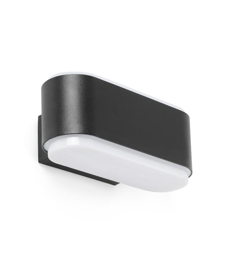 Aplique negro exterior ZOE LED