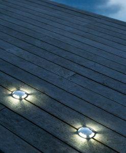 Aplique superficie KEENAN-3 LED níquel ambiente