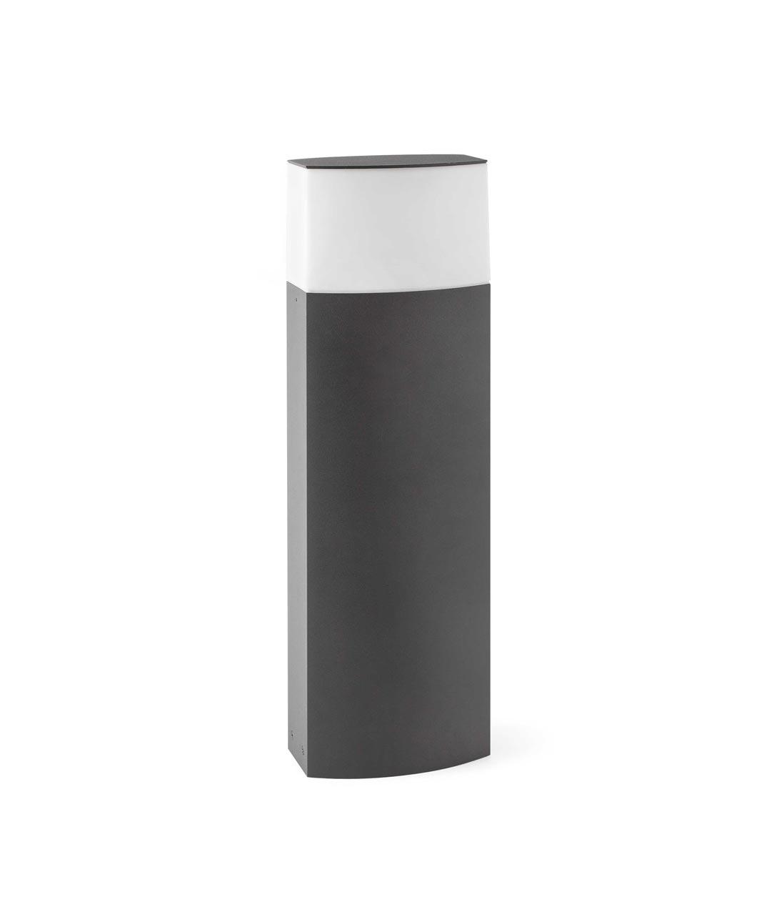 Baliza 60 cm DATNA gris oscura