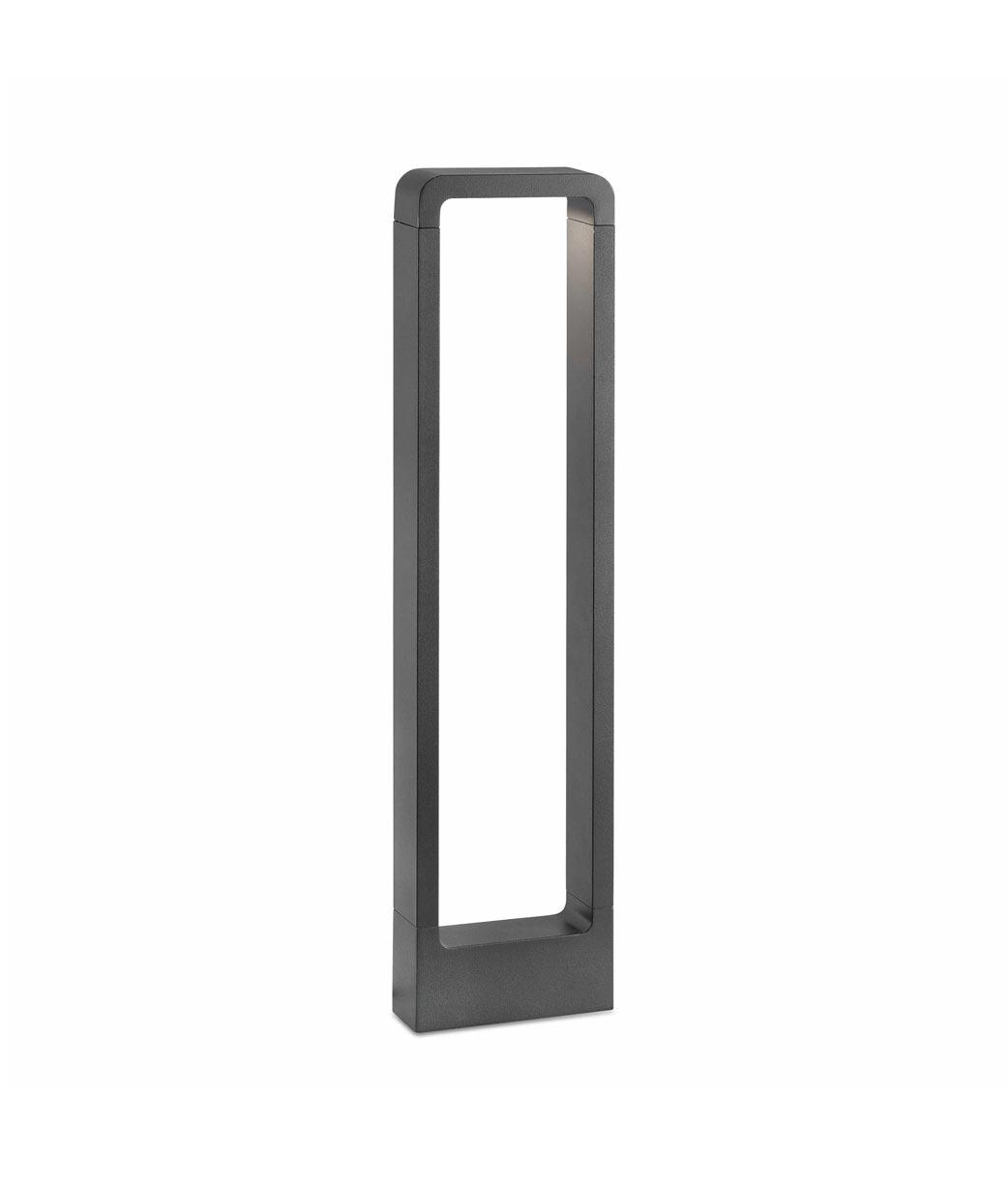 Baliza 65 cm DAS LED gris oscura