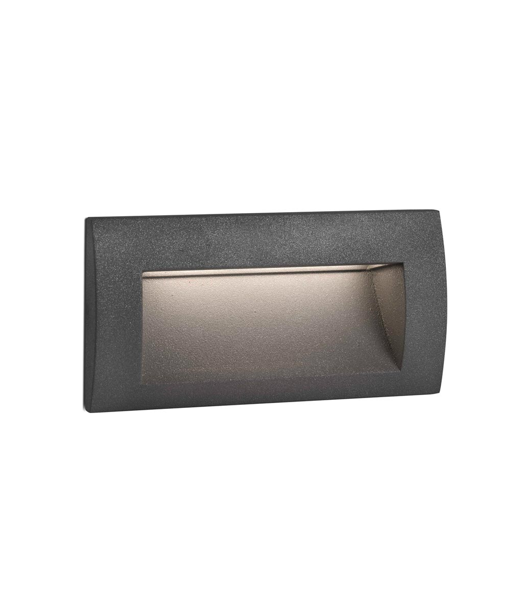Empotrable SEDNA-2 LED gris oscuro