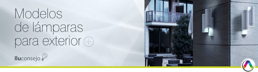 Iluconsejo modelos de lámparas para exterior - La Casa de la Lámpara