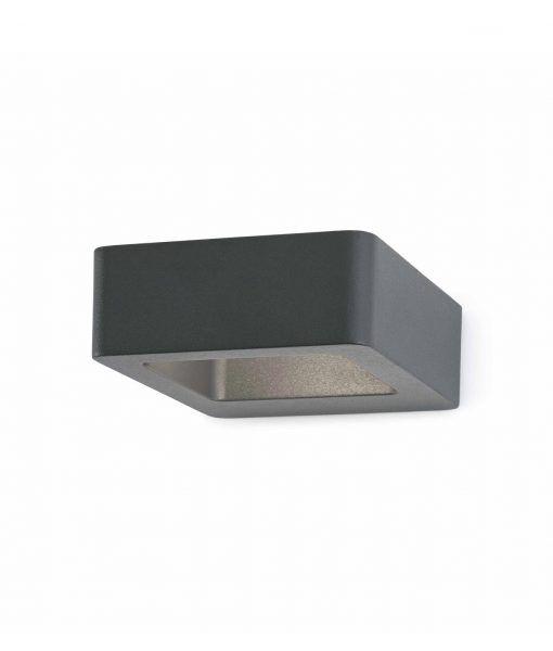 Lámpara aplique DAS LED gris oscuro
