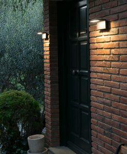 Lámpara aplique gris oscura ELE LED ambiente