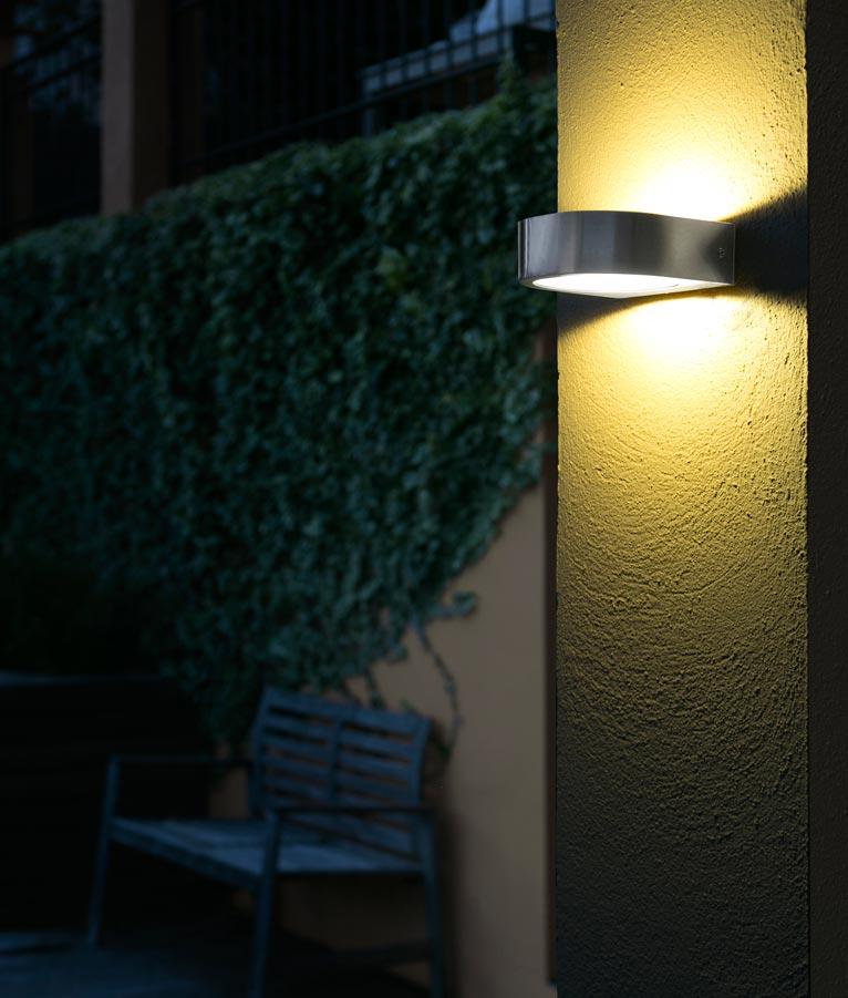 L mpara aplique inox kami led la casa de la l mpara - La casa de las lamparas barcelona ...
