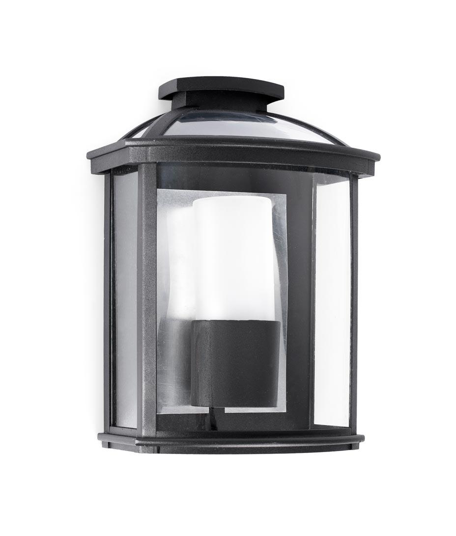 Lámpara aplique negro CERES-1