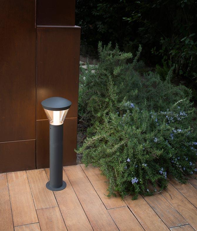 Lámpara baliza 62 cm SHELBY LED ambiente