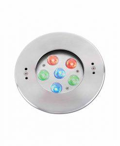 Lámpara empotrable piscina RGB EDEL