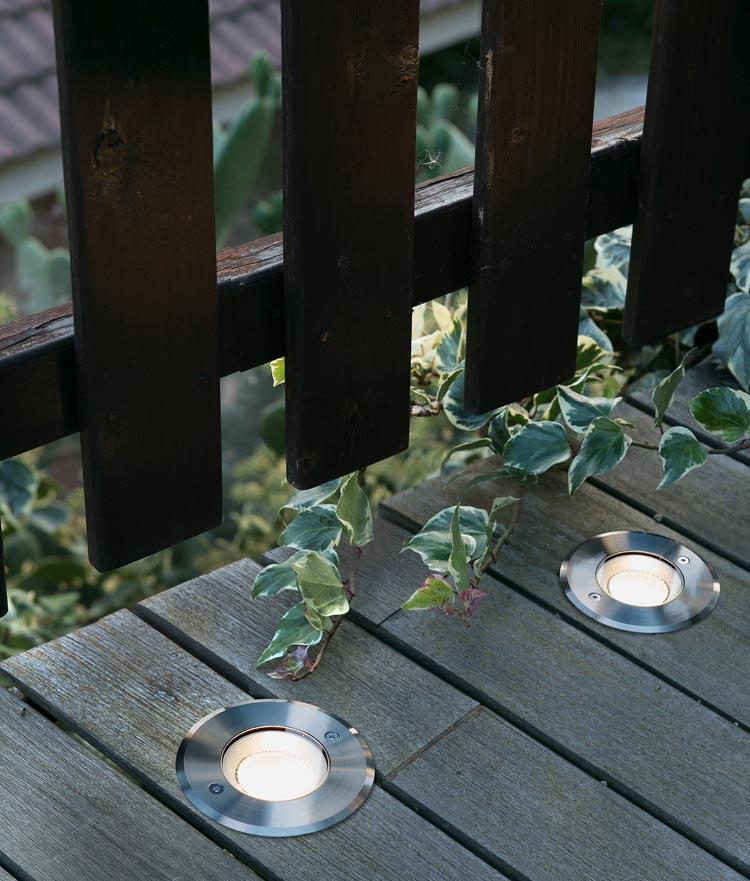 Lámpara empotrable suelo 60º SURIA 3 LED ambiente
