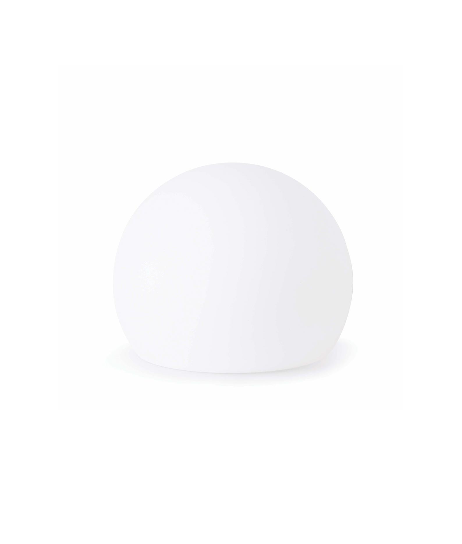 Lámpara portátil pequeña blanca BALDA