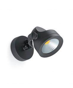 Lámpara proyector gris oscuro ALFA LED