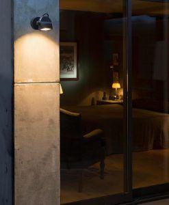 Lámpara proyector gris oscuro ALFA LED ambiente