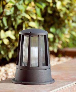 Lámpara sobremuro exterior SURAT ambiente