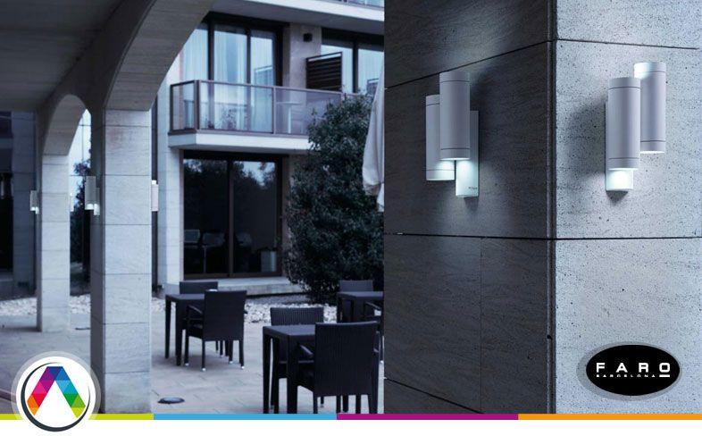 L mparas de exterior para el jard n y terraza la casa de Lamparas para exteriores modernas