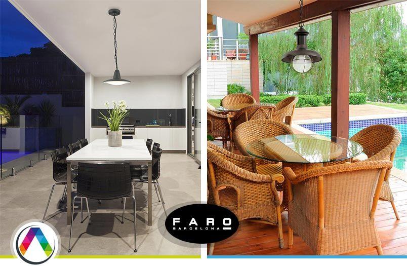 L mparas de exterior para el jard n y terraza la casa de - La casa de las lamparas barcelona ...