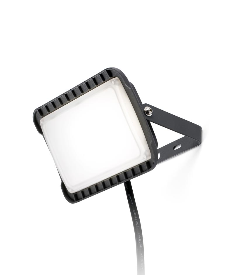 Proyector gris oscuro FLUX LED