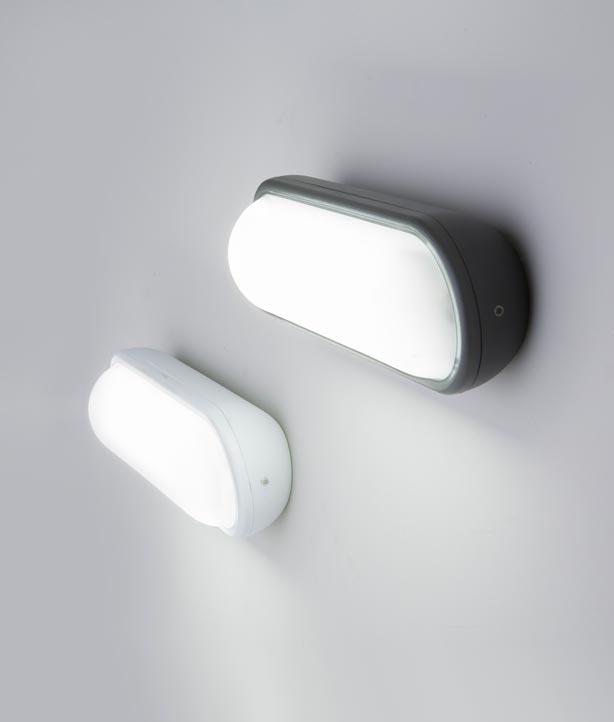 Aplique blanco exterior TONE LED modelos