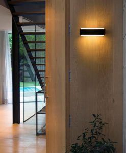 Aplique de exterior moderno STICKER LED ambiente