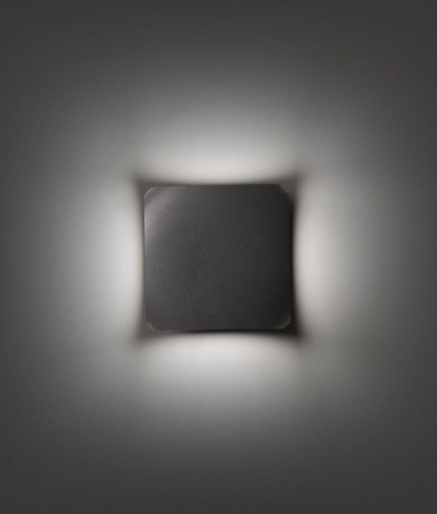 Aplique para exterior LED BU-OH gris oscuro detalle 2
