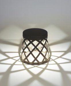 Baliza gris oscura SHADOW LED efecto de luz