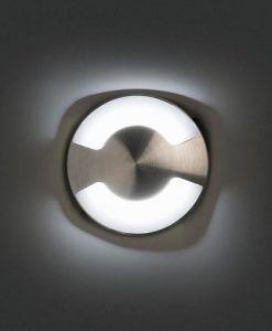 Empotrable moderno níquel KANE-2 LED detalle