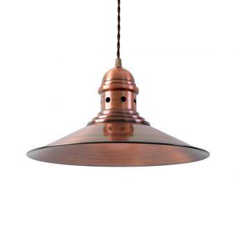 Lámpara acabado cobre HAMBURG