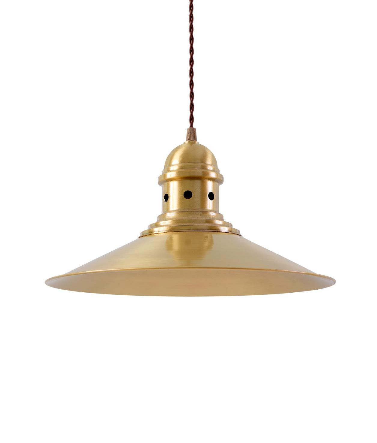 Lámpara acabado oro HAMBURG