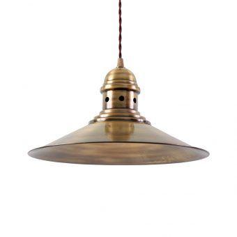 Lámpara acabado oro viejo HAMBURG
