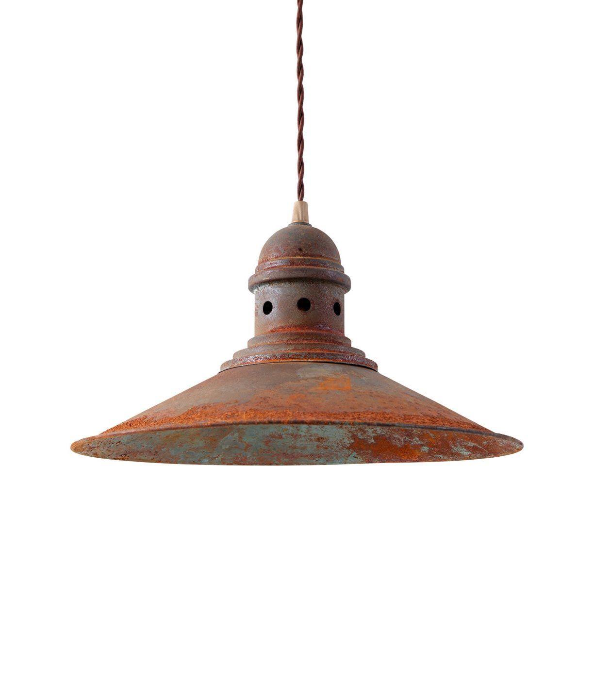 Lámpara acabado óxido HAMBURG